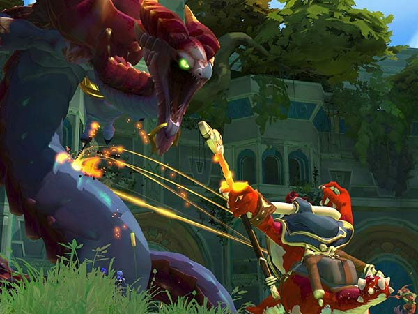 gigantic moba game